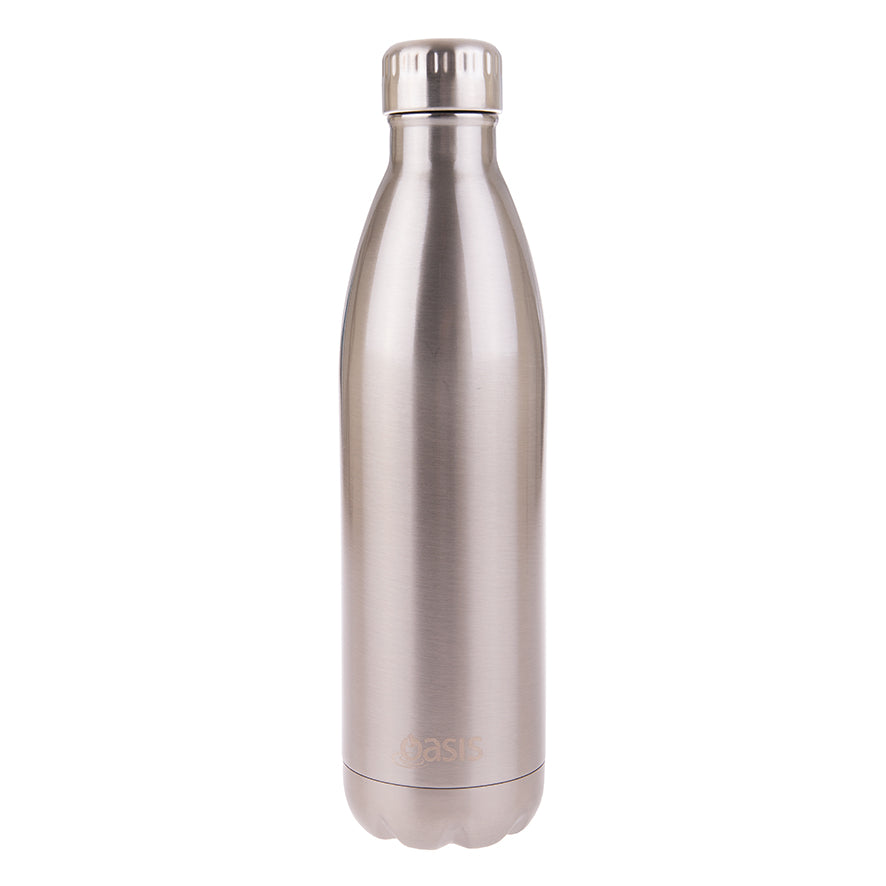 Oasis 750ml Insulated S/S Water Bottle Silver
