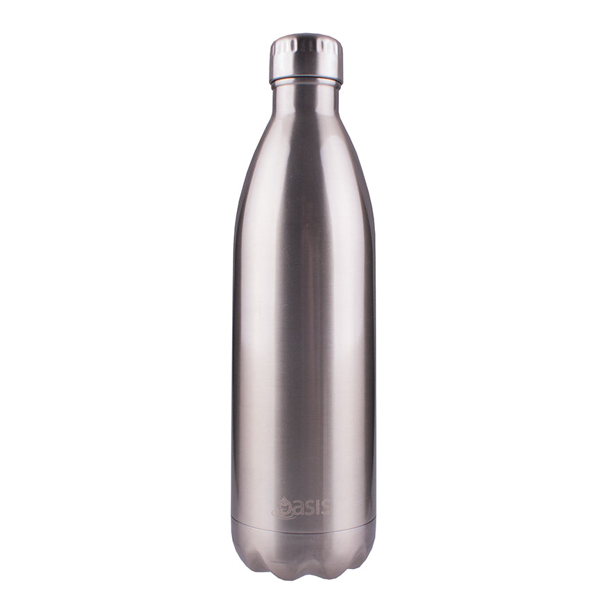 Oasis 1L Insulated S/S Water Bottle Silver