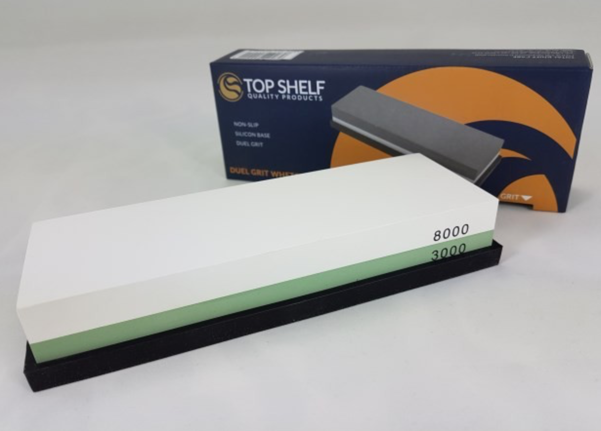 Top Shelf 3000/8000 Sharpening Whetstone