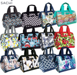 Load image into Gallery viewer, Sachi Insulated Lunch Bag Boho Elephant