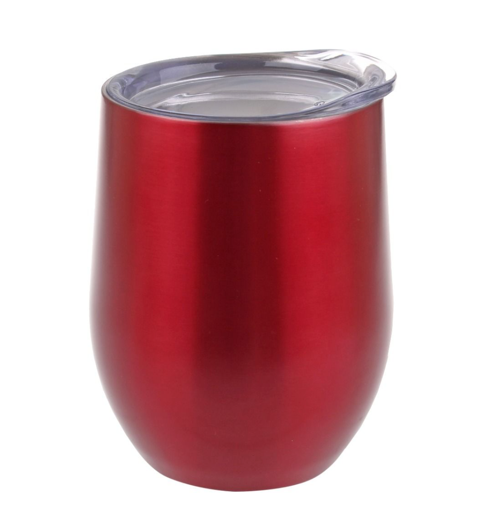 Oasis Wine Tumbler 330ml Red