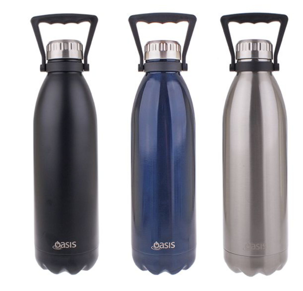 Oasis 1.5L Insulated S/S Water Bottle Navy