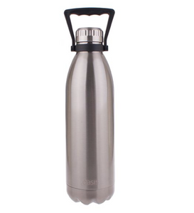 Oasis 1.5L Insulated S/S Water Bottle Silver