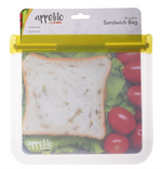 Load image into Gallery viewer, Appetito Reusable Zip Lock Sandwich Bag