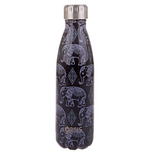 Oasis 500ml Insulated S/S Water Boho Elephant