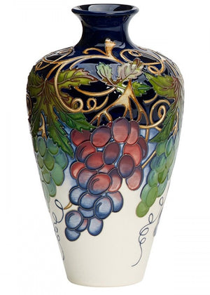Moorcroft Napa Valley Vase 72/9 - Ltd Ed 25