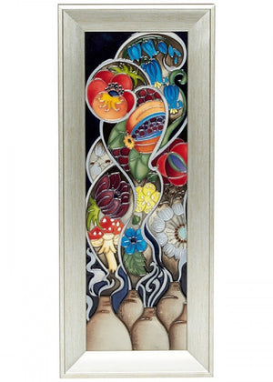 Moorcroft Kaleidoscope of Colour Plaques PLQ3 - Numbered