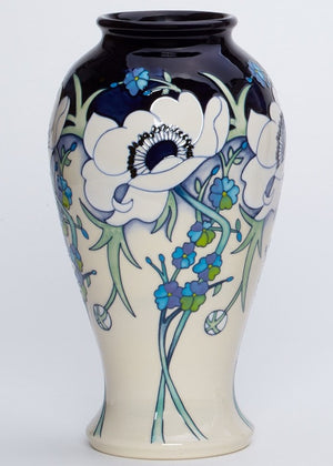 Moorcroft White Splendour Vase 46/10 - Ltd Ed 25