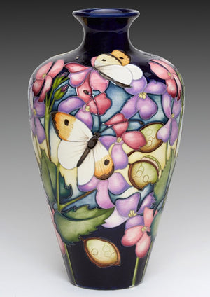 Moorcroft Orange Tip Vase 72/9 - Ltd Ed 40