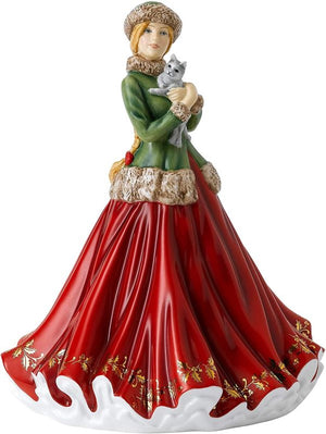 Royal Doulton Christmas Treat 2020 Annual Christmas Day Figurine of the Year HN5930