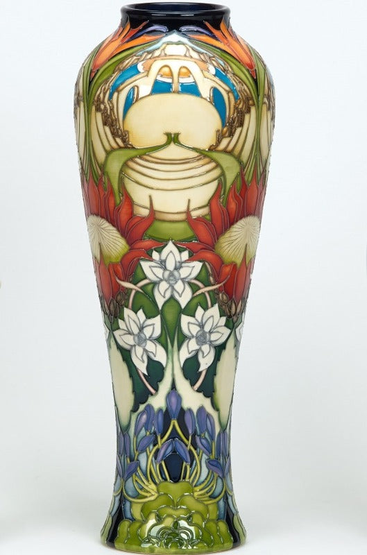 Moorcroft Cornish Rhapsody Vase 121/14 - Ltd Ed 20