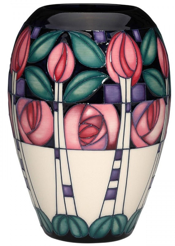 Moorcroft Kingsborough Gardens Vase 102/7 - Numbered