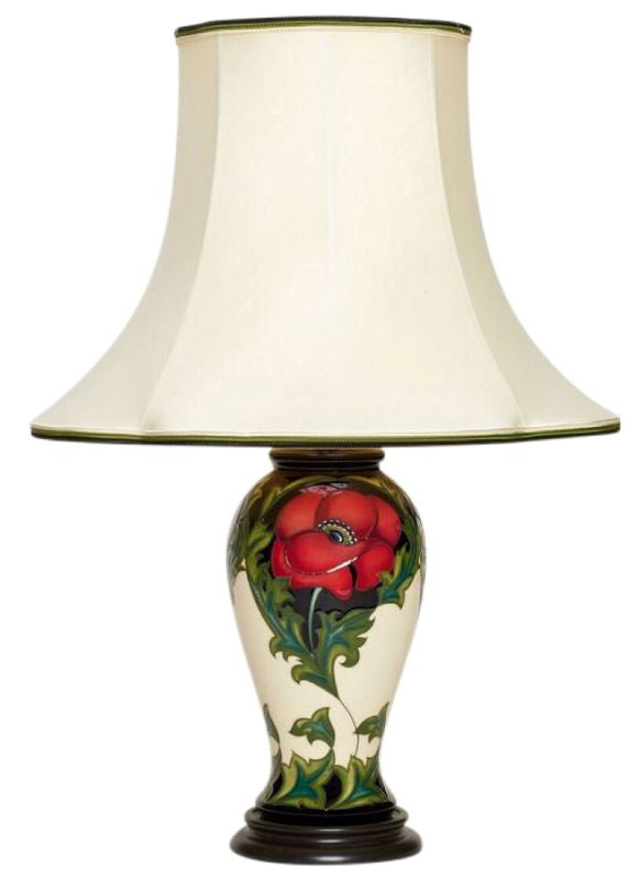 Moorcroft Pavot L46/10 Lamp and Shade
