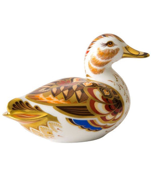 Royal Crown Derby Wigeon Duck Paperweight