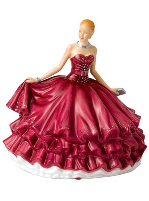 Royal Doulton Crystal Ball Evening Rendezvous Figurine HN5788