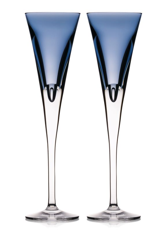 Waterford Crystal W-Collection Sky Flute Pair