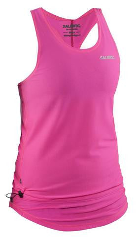 Salming Run Racerback Top - Knockout Pink