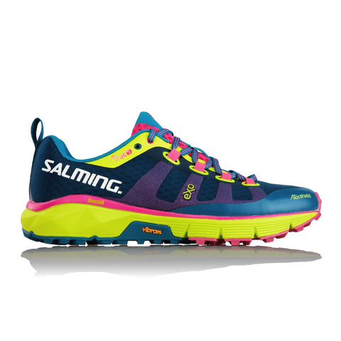 Salming Trail 5 Women - Blue/Flourscent Yellow