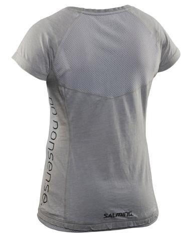 Image of Salming Run Divine Tee - Stone Melange