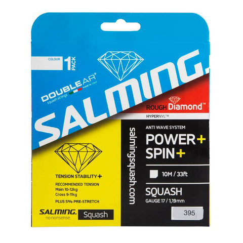 Salming Rough Diamond String - Transparent