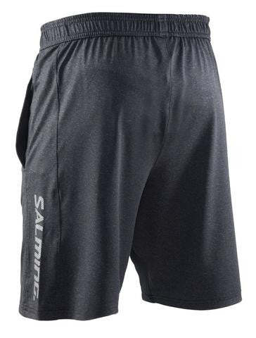 Image of Salming Run Knit Shorts - Stone Melange