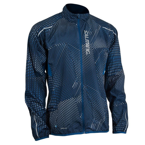 UltraLite Jacket 3.0 Men - Poseidon Blue Print