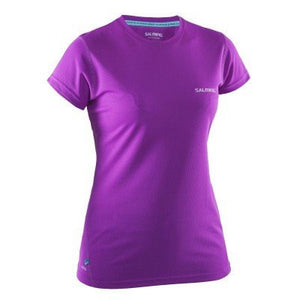Salming SS Tee Women- Purple Cactus Flower