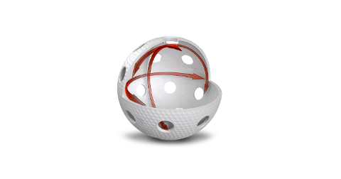 Image of Aero Floorball White