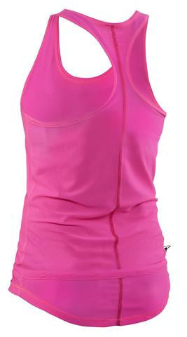 Image of Salming Run Racerback Top - Knockout Pink