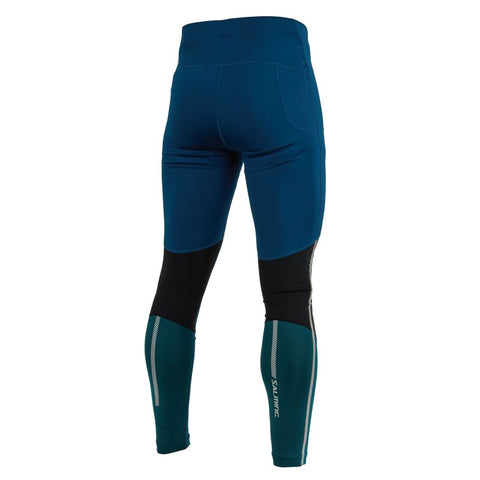 Image of Grand Tights - Posiedon Blue/Black/Deep Teal