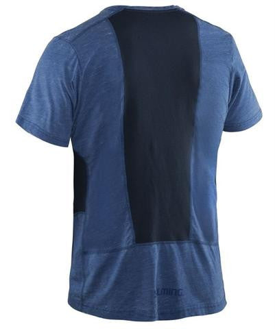 Salming Run Legend Tee - Blue Mist Melange