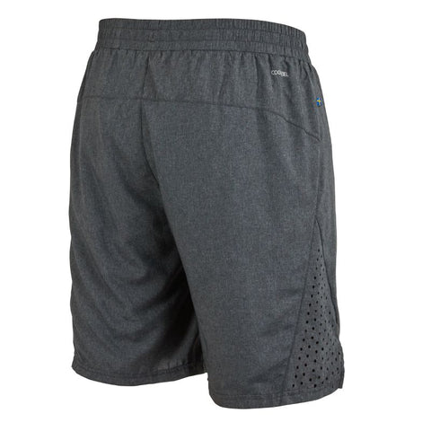Image of Runner Shorts Men - Dark Grey Melange