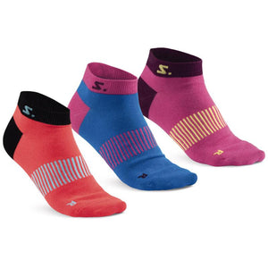 Salming Ankle Sock 3-pack	Diva Pink/ Mixed