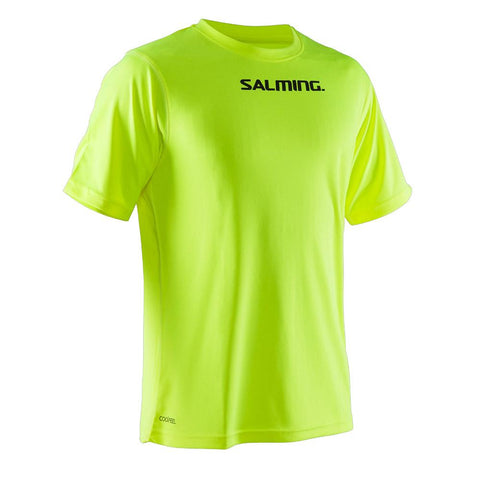 Salming Focus Tee JR - Yellow