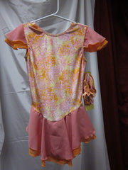 Jerry's Child Garden Gala Skate Dress Size 10-12 Style 204
