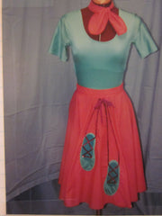 50'S POODLE SKIRT COSTUME #88