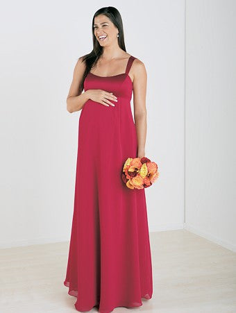 2542a7a380 Alfred Angelo Long Maternity Dress