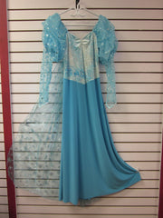 BLUE PRINCESS COSTUME #90
