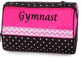 CHEVRON GYMNASTIC DUFFLE BAG