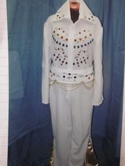 ELVIS WHITE COSTUME #76
