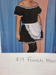 FRENCH MAID COSTUME #19