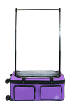 RacNRoll Large Purple 4x Dual Wheel Bag