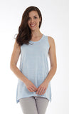Sleeveless Top with Side Slits Style MT-15