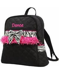 CHILD QUILTED DANCE BACKPACK WITH FRINGE
