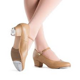 BLOCH LADIES TAN SHOWTAPPER STYLE S0323L