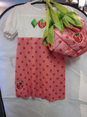 Child Strawberry Shortcake Costume Size 4-6 Style #7