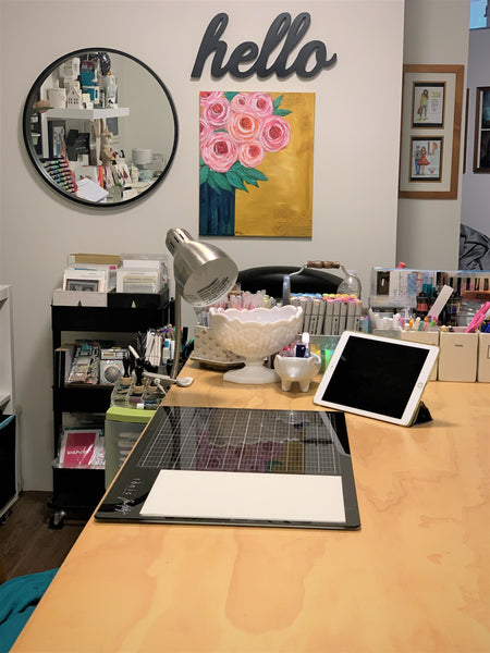 Angie Blom's Creative Space