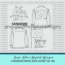 Load image into Gallery viewer, Canadian Made Jean Jacket
