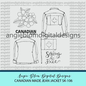 Canadian Made Jean Jacket