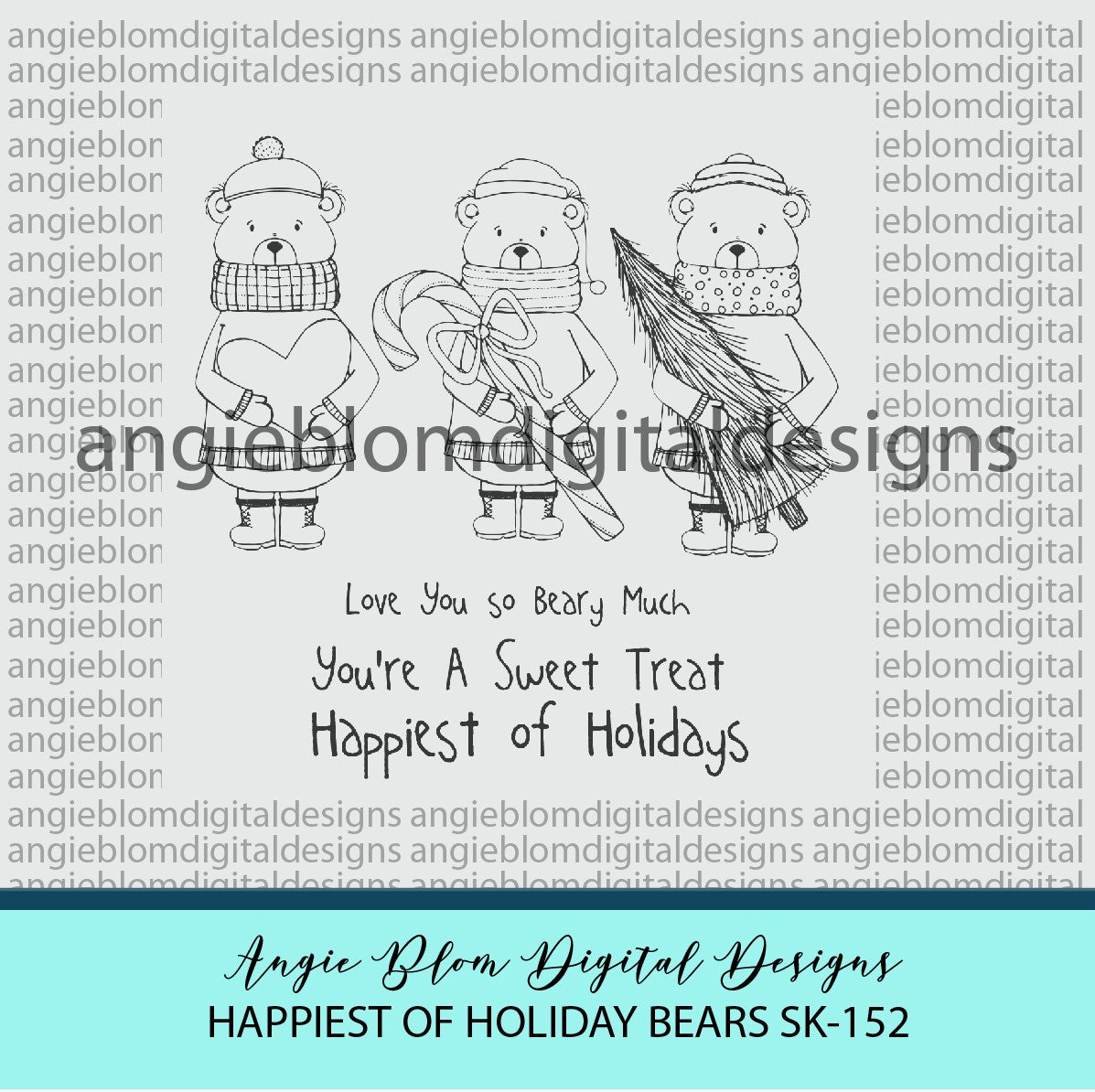 Happiest of Holiday Bears
